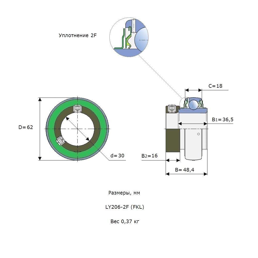 LY 206-2F (FKL)