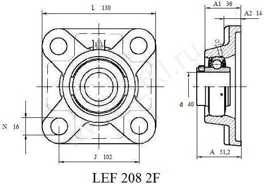 LEF 208 2F (FKL) Эскиз