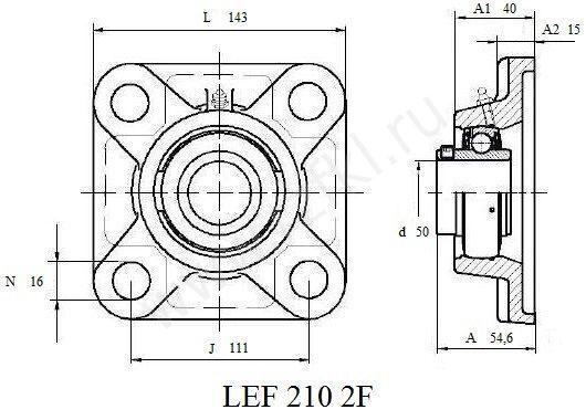 LEF 210 2F (FKL) Эскиз