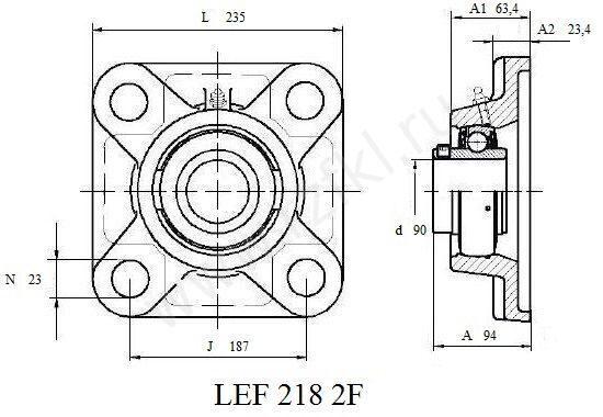 LEF 218 2F (FKL) Эскиз