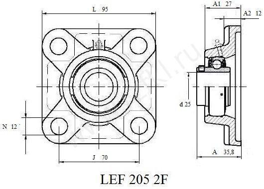 LEF 205-2F (FKL)  Эскиз