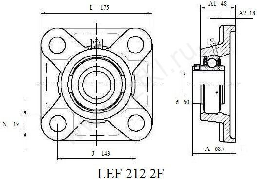 LEF 212 2F (FKL) Эскиз