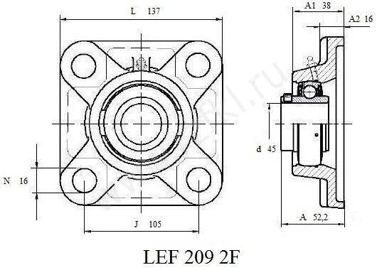 LEF 209 2F (FKL) Эскиз