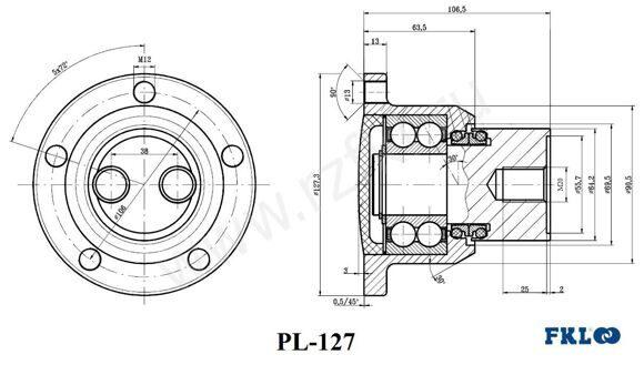 PL-127 (FKL) Эскиз