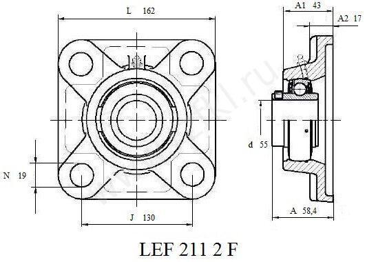 LEF 211 2F (FKL)  Эскиз