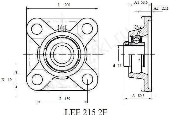 LEF 215-2F (FKL) Эскиз