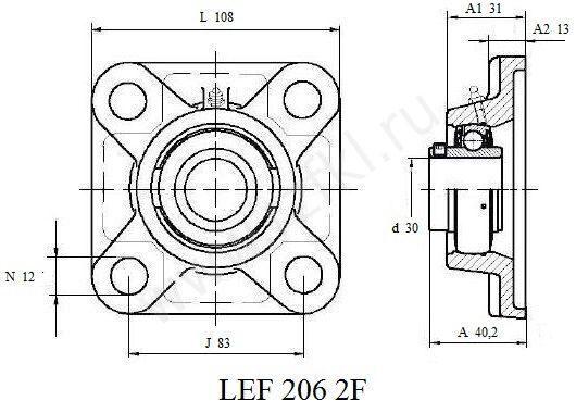 LEF 206-2F (FKL)  Эскиз
